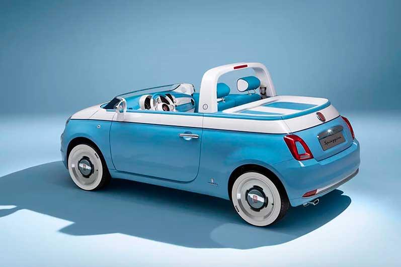 Fiat 500 Spiaggina '58 Plano entero
