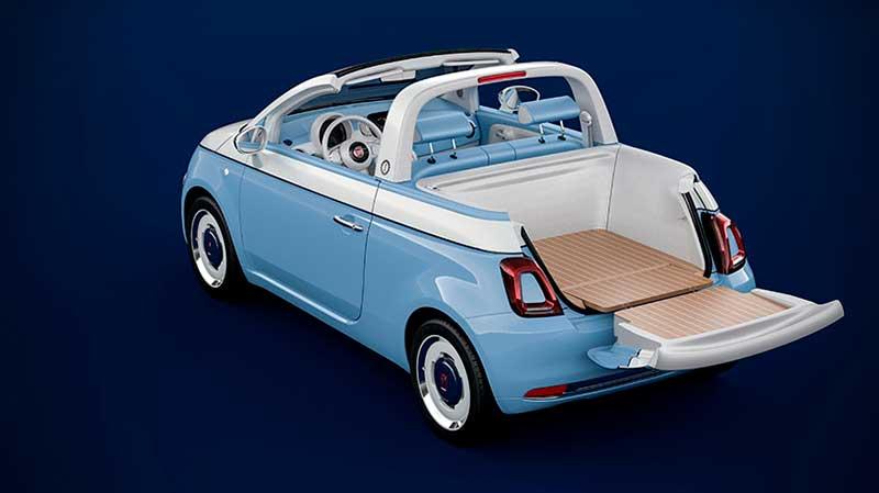 Fiat 500 Spiaggina '58 Vista trasera