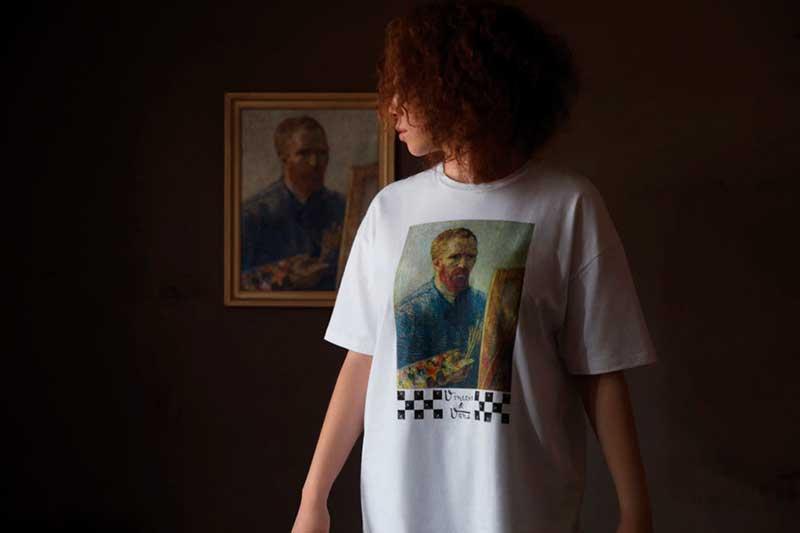 Vans y Van Gogh Museum Playera Vans Autorretrato de Van Gogh