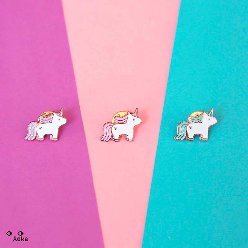 Yeka Pins de unicornio