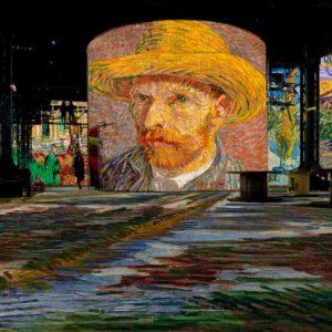 La noche estrellada: una experiencia inmersiva de Van Gogh en París