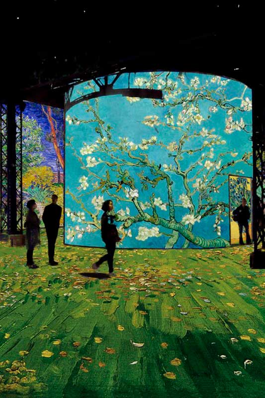 """""""La noche estrellada"""": vive la experiencia inmersiva de Van Gogh en París"""