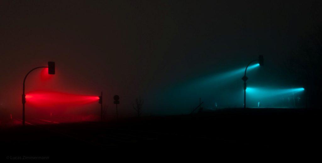 Traffic Lights : cuando el arte aparece a la medianoche en la carretera