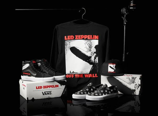 Vans conmemora 50 aniversario de Led Zeppelin