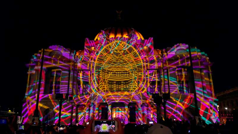 Video Mapping Filux 2017