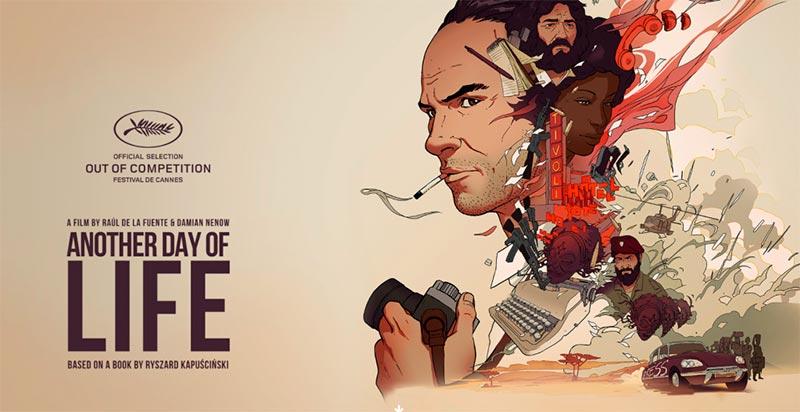 """""""Un día más con vida"""", la película animada que rinde homenaje a Kapuscinski llega a la Cineteca"""