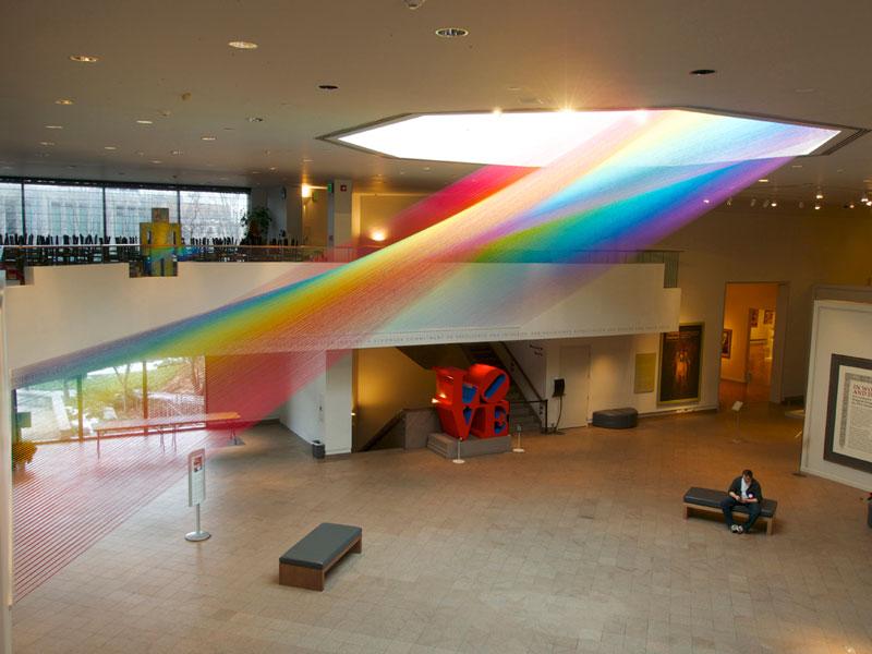 El artista mexicano que diseña arcoíris: Gabriel Dawe