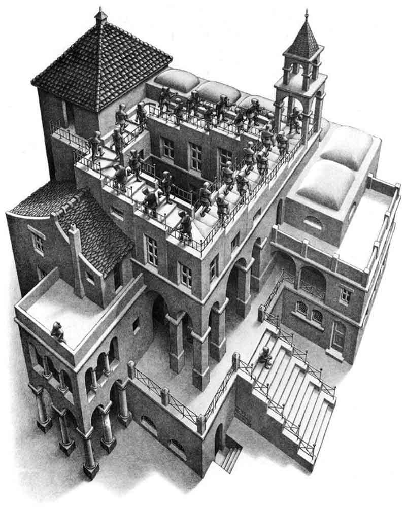 Referencias en el cine a obras de arte de René Magrite, M. C. Escher y Edward Hopper