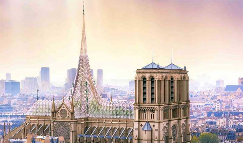 Propuesta de restauración de Notre Dame