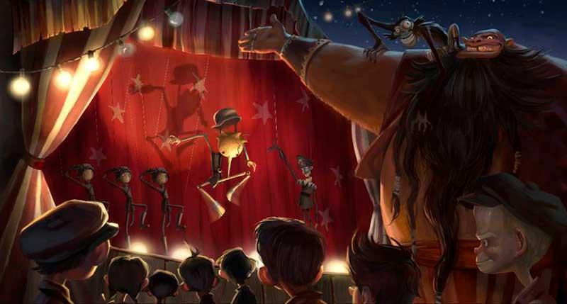Pinocchio de Guillermo del Toro