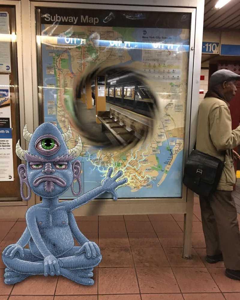 Subway Doodle