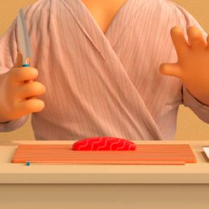 Sushi cortometraje Lindgren