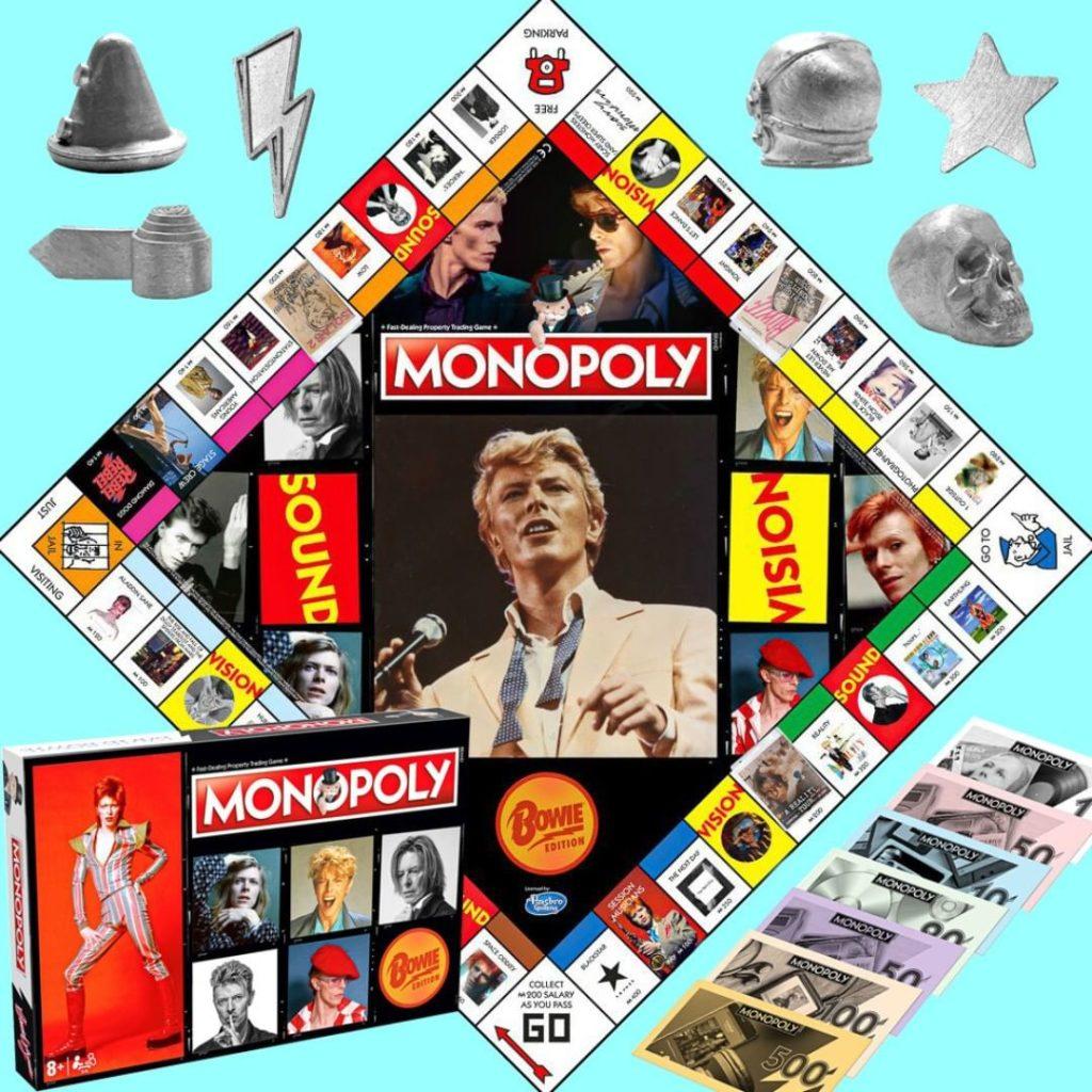 Juega Monopoly al ritmo de Life on Mars recorriendo todos los álbumes de uno de los más grandes iconos del rock: David Bowie.