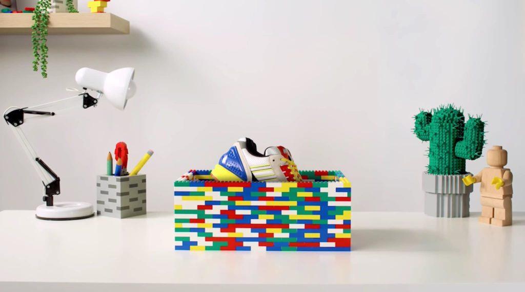 Lego y Adidas se unen en una colaboración de tenis para la colección ZX