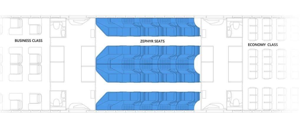 La peor parte de un viaje en avión, más si son largos, es la incomodidad de los asientos. Para ponerle fin a este martirio la empresa Zephyr aerospace presentó un diseño en el que se unen el asiento y la cama de avión para la clase económica.