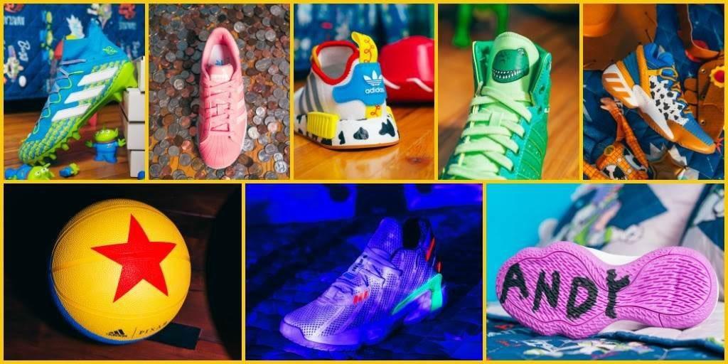 Está increíble colección sale de la unión de Adidas y Pixar para conmemorar el 25 aniversario de 'Toy Story', la cual estará disponible a partir del 1 de octubre.