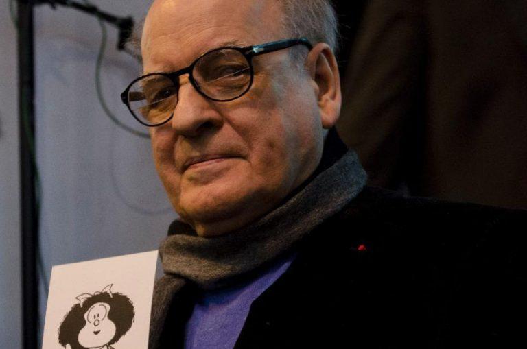 El historietista argentino Joaquín Salvador Lavado Tejón, mejor conocido como Quino, falleció a los 88 años de edad, esta mañana de miércoles en su natal Mendoza.