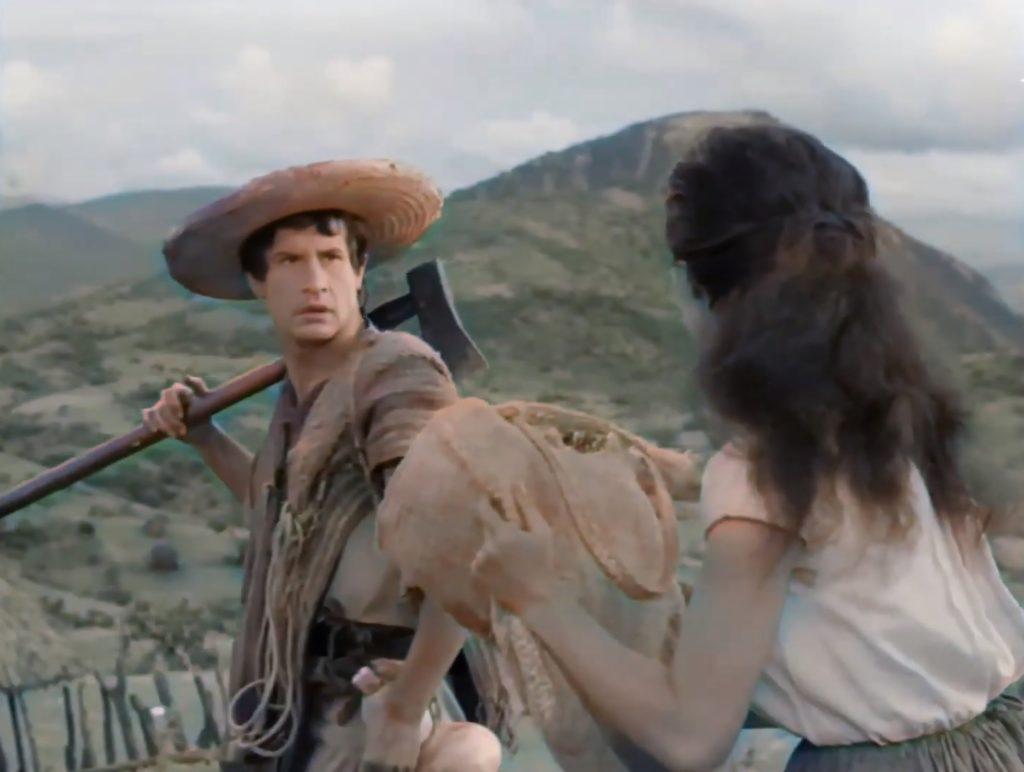 """Woldemberf Pérez Zúñiga, un joven de Tuxtla Gutiérrez, decidió como proyecto personal colorizar la película mexicana """"Macario""""."""