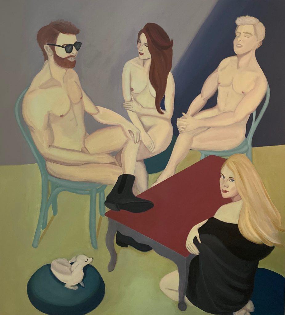 Cuestionarse y cuestionar las normas de sociedades conservadores es la línea de la inspiración del trabajo del artista plástico Jules Carp.