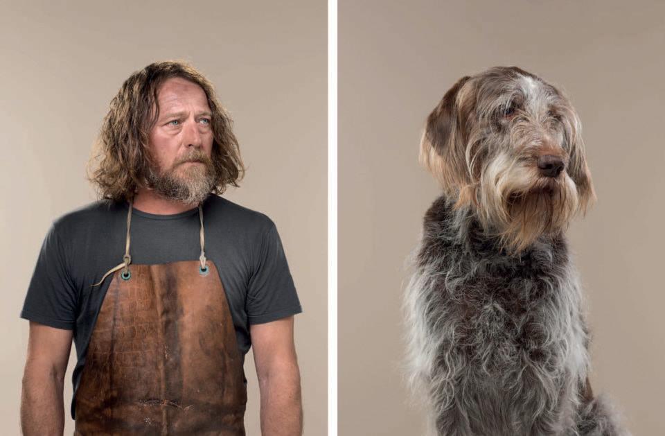 Todo se parece a su dueño y el trabajo fotográfico de Gerrard Gethings lo confirma. A través de una serie de divertidas fotografías de comparación entre gatos y perros con los humanos.