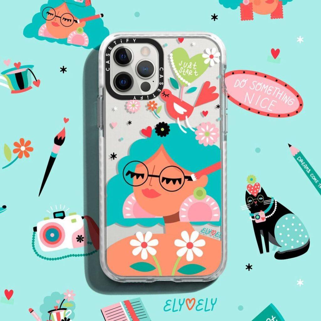 ¡Si eres amante de las cases para celular, esta colección de Casetify x Ely Ely te encantará! Para los que no la conocen Melissa Zuñiga, mejor conocida como Ely Ely Ilustra es una ilustradora mexicana que se inspira en la belleza y autenticidad de las mujeres.