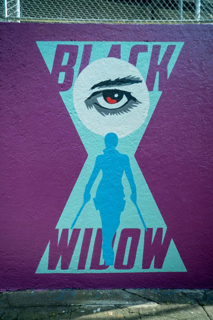 Murales Black Widow